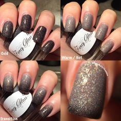 Fancy Gloss - Celestial Night Fancy, Gorgeous Nails, Swatch, Indie, Nail Polish, Make Up, Nail Art, Celestial, Photo And Video