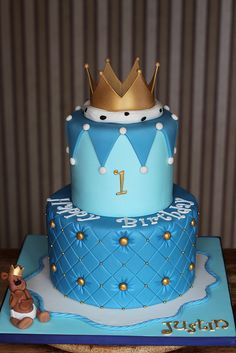 Little Prince cake by Andrea's SweetCakes, via Flickr