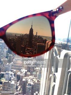 Stock Photo : New York City Seen Through From Sunglasses