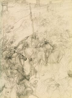 Grond - Alan Lee (off 'The Lord of the Rings Sketchbook')
