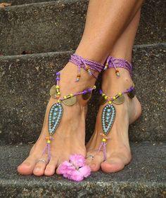 Fine Jewelry Anklets Self-Conscious Qevila Hot Anklet For Women Foot Jewelry Summer Beach Crochet Black Ankle Bracelet Sandal On Leg Female Bohemian Accessory Boho Elegant In Smell