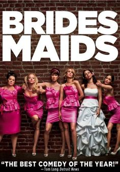 Bridesmaids, Movie on DVD, Comedy