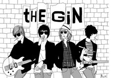 The gin mur signée