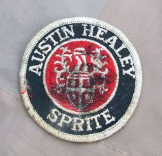 #AUSTIN-HEALEY SPRITE EMBROIDERED PATCH Original Not Repro. Cheap!!  This item is now for sale on ebay, search ebay for item number AUSTIN-HEALEY SPRITE EMBROIDERED PATCH Original Not Repro. Cheap!! - 351249835598