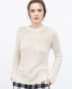 LINK KNIT SWEATER-Knitwear-WOMAN-SALE | ZARA United States