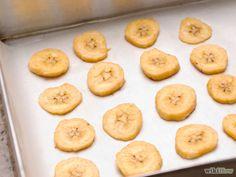Chips de bananes au fous
