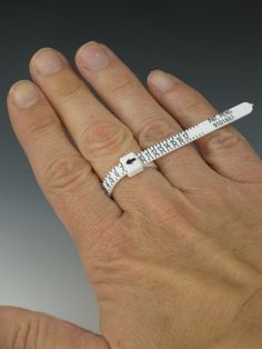 Reusable Adjustable Ring Sizer - multisizer- ring gauge. $2.50, via Etsy.