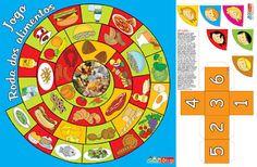 AS NOSSAS PARTILHAS: Jogo - Roda dos alimentos