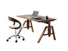 Schreibtisch | Massivholz | Höhenverstellbar   Bei Möbel Morschett
