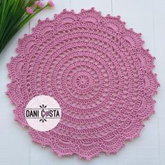Crochet Doily Patterns, Crochet Doilies, Doily Rug, Free Crochet, Decoupage, Projects To Try, Make It Yourself, Video, Instagram