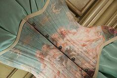 Venus Rococo Corset Historical Corset Fragonard by RetroFolie