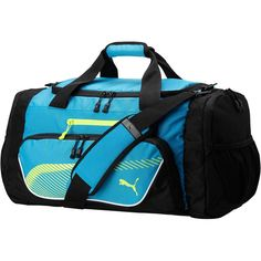 2244713ecd Puma Winger Duffel Bag ( 50) ❤ liked on Polyvore featuring men s fashion