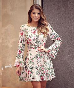 Image may contain: 2 people Casual Dresses, Short Dresses, Fashion Dresses, Summer Dresses, Pretty Dresses, Beautiful Dresses, Dress Skirt, Dress Up, Floral Fashion