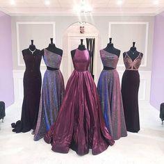 purple prom dresses 2020 from Mimi's Bridal & Boutique Pretty Prom Dresses, Hoco Dresses, Dance Dresses, Ball Dresses, Elegant Dresses, Homecoming Dresses, Beautiful Dresses, Evening Dresses, Formal Dresses
