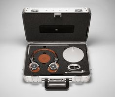 Master & Dynamic's Headphones Halliburton Kit