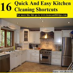 16 Quick And Easy Kitchen Cleaning Shortcuts