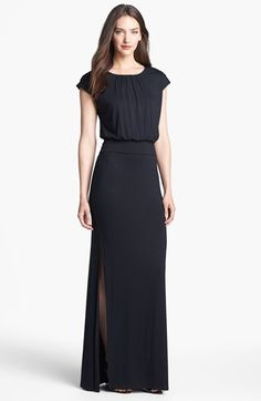 FELICITY & COCO 'Vienna' Blouson Maxi Dress (Regular & Petite) (Nordstrom Exclusive) available at #Nordstrom