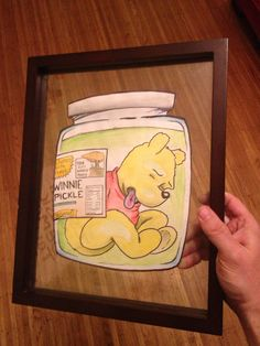 Pickled Winnie. Illustration for a client.
