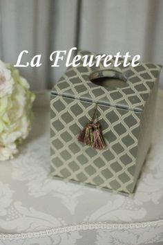 すっきりきれいなティッシュボックス♪ の画像|布のインテリア*La Fleurette の Diary
