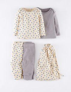Pack gemütliche Unterwäsche mit Lochmuster