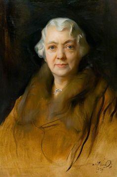 The Athenaeum - Mrs John Robertson (Philip Alexius de László - )
