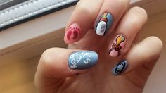 #babyshower#nails#nailart