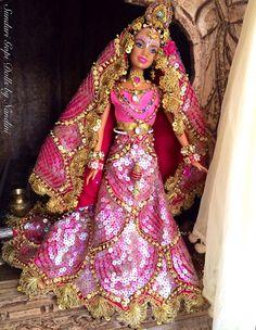 Sundari Gopi Doll OOAK Barbie Doll Indian by GopiDesigns on Etsy
