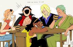 One Piece Meme, One Piece Funny, One Piece Comic, One Piece Fanart, Zoro, Gekkan Shoujo Nozaki Kun, One Piece Drawing, Manga Anime One Piece, One Piece Images