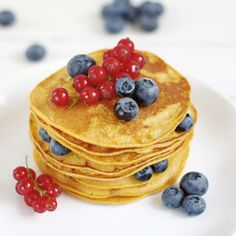 Pancakes, Breakfast, Ethnic Recipes, Fitness, Food, Morning Coffee, Essen, Pancake, Meals