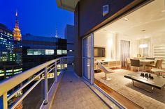 Apartamento nos Jardins - Sala de Estar Projeto - Enzo Sobocinski Arquitetura