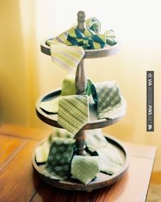 Fantastic! - This couple bought green groomsmen neckwear in a mix of prints and let each guy choose his favorite   CHECK OUT MORE GREAT GREEN WEDDING IDEAS AT WEDDINGPINS.NET   #weddings #greenwedding #green #thecolorgreen #events #forweddings #ilovegreen #emerald #spring #bright #pure #love #romance