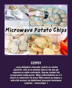 Przepis na domowe chipsy bez konserwantów...