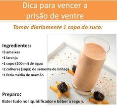 #Suco para prevenir #prisão de #ventre. Saiba como fazer mais coisas em http://www.comofazer.org