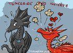 Temeraire and Iskierka