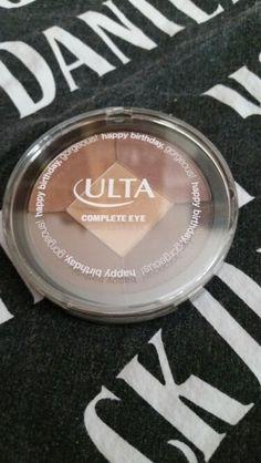 Ulta eye palette. Bday spring 2015. New & sealed.