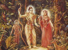 Veel plaatjes van Sita & Ram / Many pictures and drawings of Sita & Ram