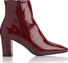 c85113abee2 These ultra versatile boots feature block heels and come outfitted in  truffle hued patent leather