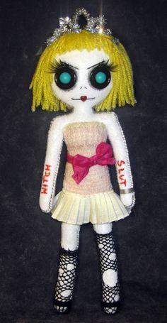 Courtney Love - Handmade doll by DollArmsBigVeins