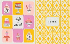 A pocket planner inspired by fashion, fun, and living a carefree life. Client: Galison