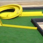 mini golf and putt putt obstacles for all types of miniature golf courses Miniature Golf, Putt Putt, Spiral, Golf Courses, Spring Break, Ideas, Dolphins, Winter Vacations, Thoughts