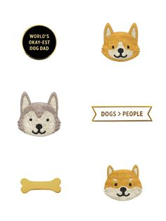 Adorable Dog Pins and Patches by Fox&Bagel – Discover on disruptivedog.com