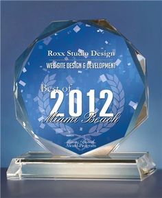 Roxx Studio Design Receives 2012 Best of Miami Beach Award