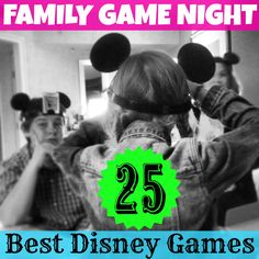 25 Awesome Family Games to play at your #DisneySide Party!