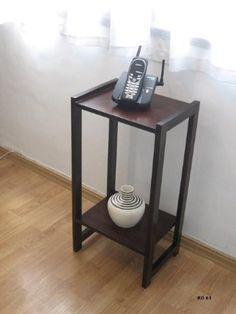 mesa de luz o telefono 30x25x65 super oferta