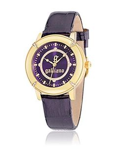 John Galliano Reloj de Cuarzo El Decorador Morado 38 mm