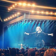 Adele at the M.E.N my mind was blown. #Adele #25tour #manchestereveningnewsarena #M.E.N #concert #singing #amazing #perfectmemories by lolroberts7