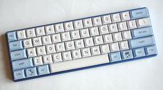 TEX case, FaceU replica PCB, Titanium plate, Infinity DSA keycaps.