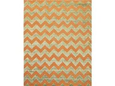 Brand: Kravet Carpet, SKU: Jagged-Orange, Category: , Color(s):  Origin: Pakistan, Content: Wool, Quality: Hand Knotted, Mixed Texture.