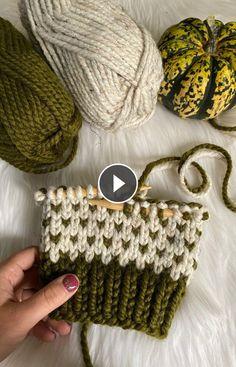 # baby beanie crochet pattern Knitting Fair Isle W/ 2 Colors! Easy Knitting Patterns, Knitting Stitches, Knitting Socks, Baby Knitting, Crochet Patterns, Stitch Patterns, Knitting Videos, Crochet Videos, Summer Knitting