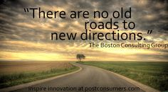 Find the New Roads if You Want to Drive Innovation and  #Technology